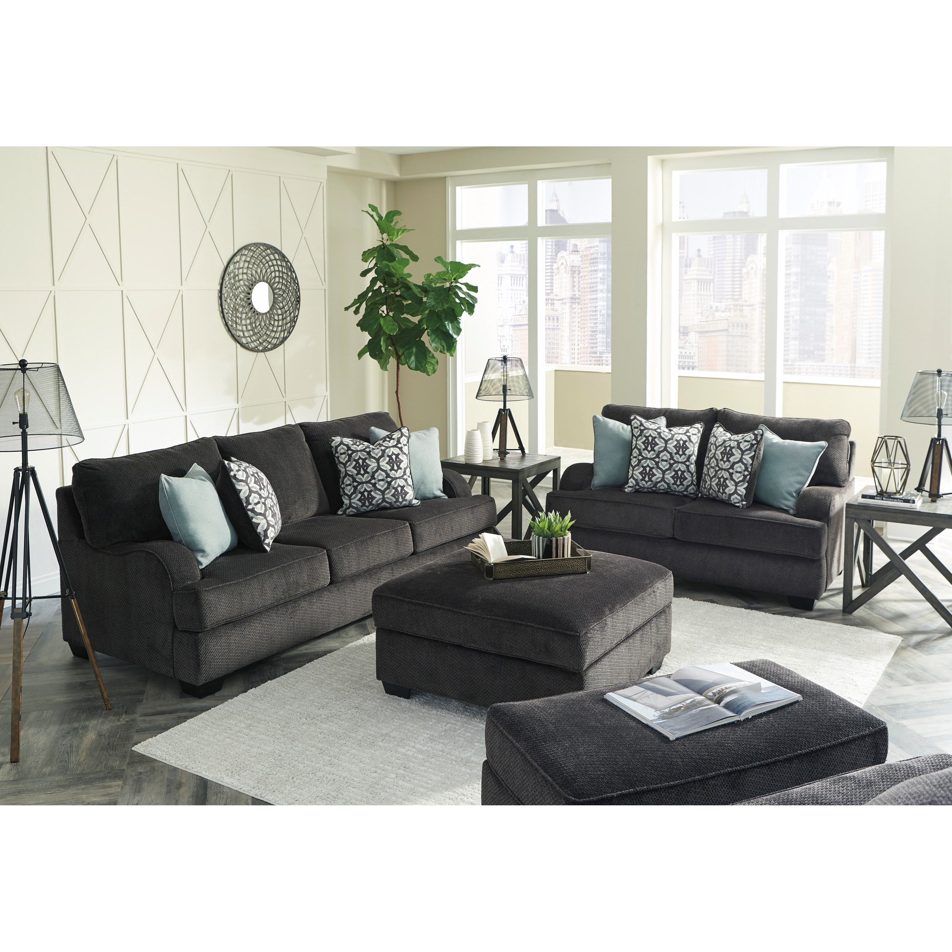Signature Design By Ashley Charenton Queen Sofa Sleeper