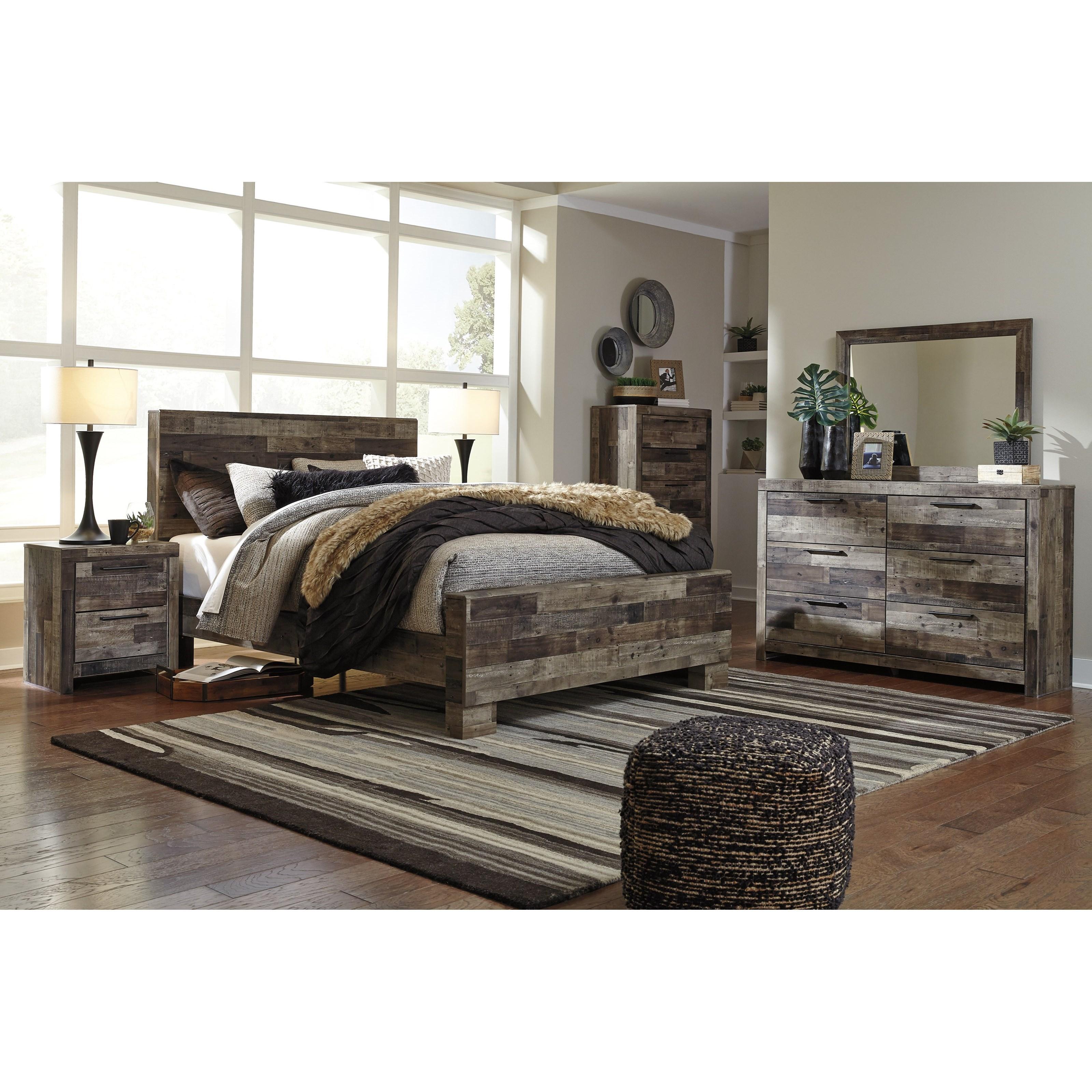 Benchcraft By Ashley Derekson Rustic Modern Dresser