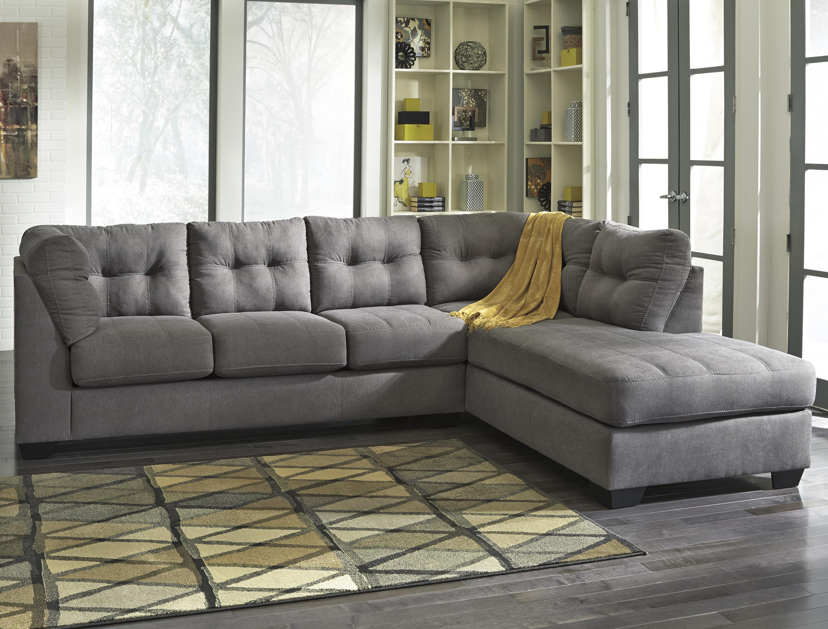mayberry 2 piece sectional w sleeper sofa chaise