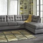 Benchcraft Maier Charcoal 2 Piece Sectional With Right Chaise Pilgrim Furniture City Sectional Sofas