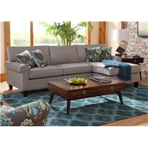 Sectional Sofas   Washington DC  Northern Virginia  Maryland and     Belfort Essentials Columbia Heights Chaise Sofa