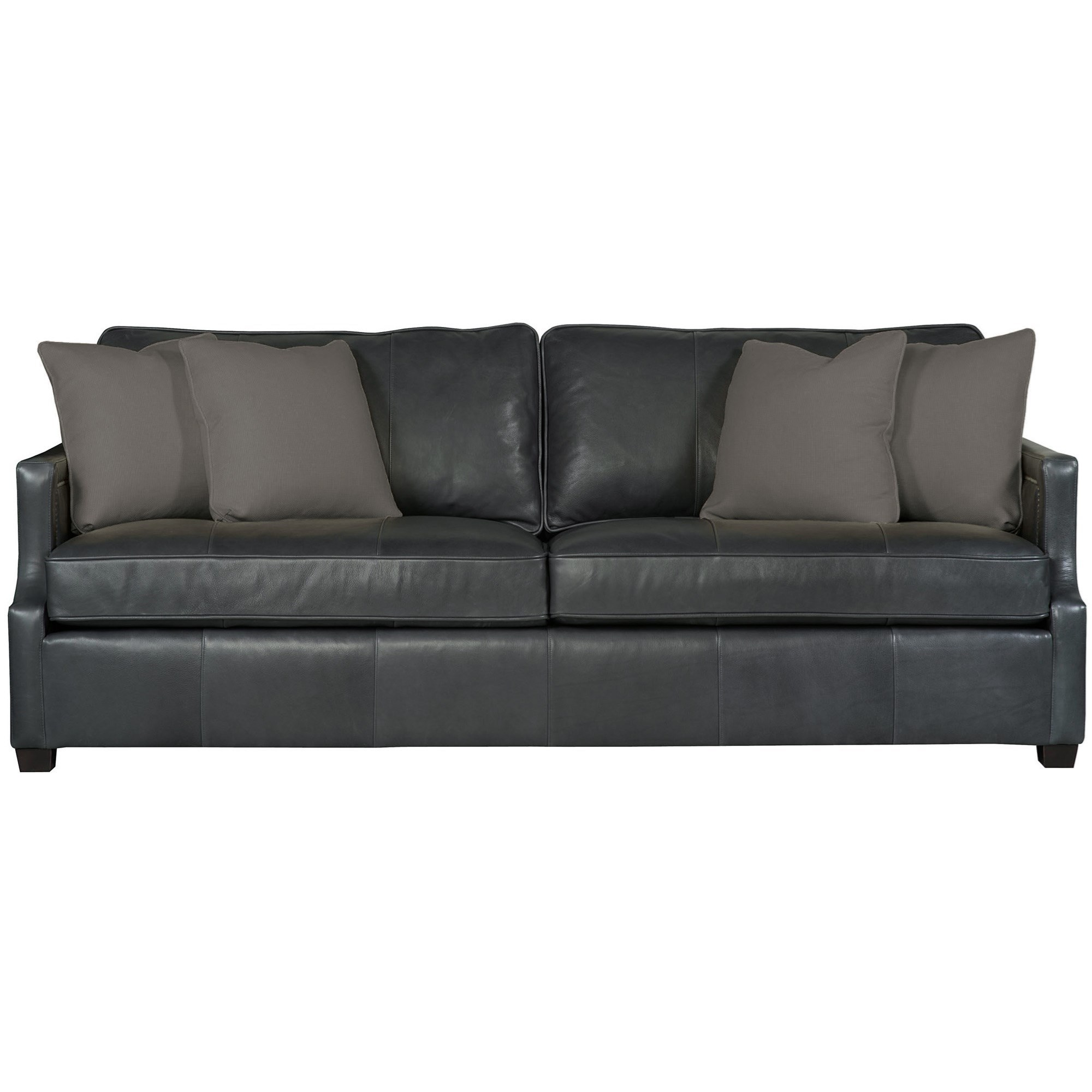 Bernhardt Clinton Sofa With Contemporary Transitional Style Jacksonville Furniture Mart Sofas