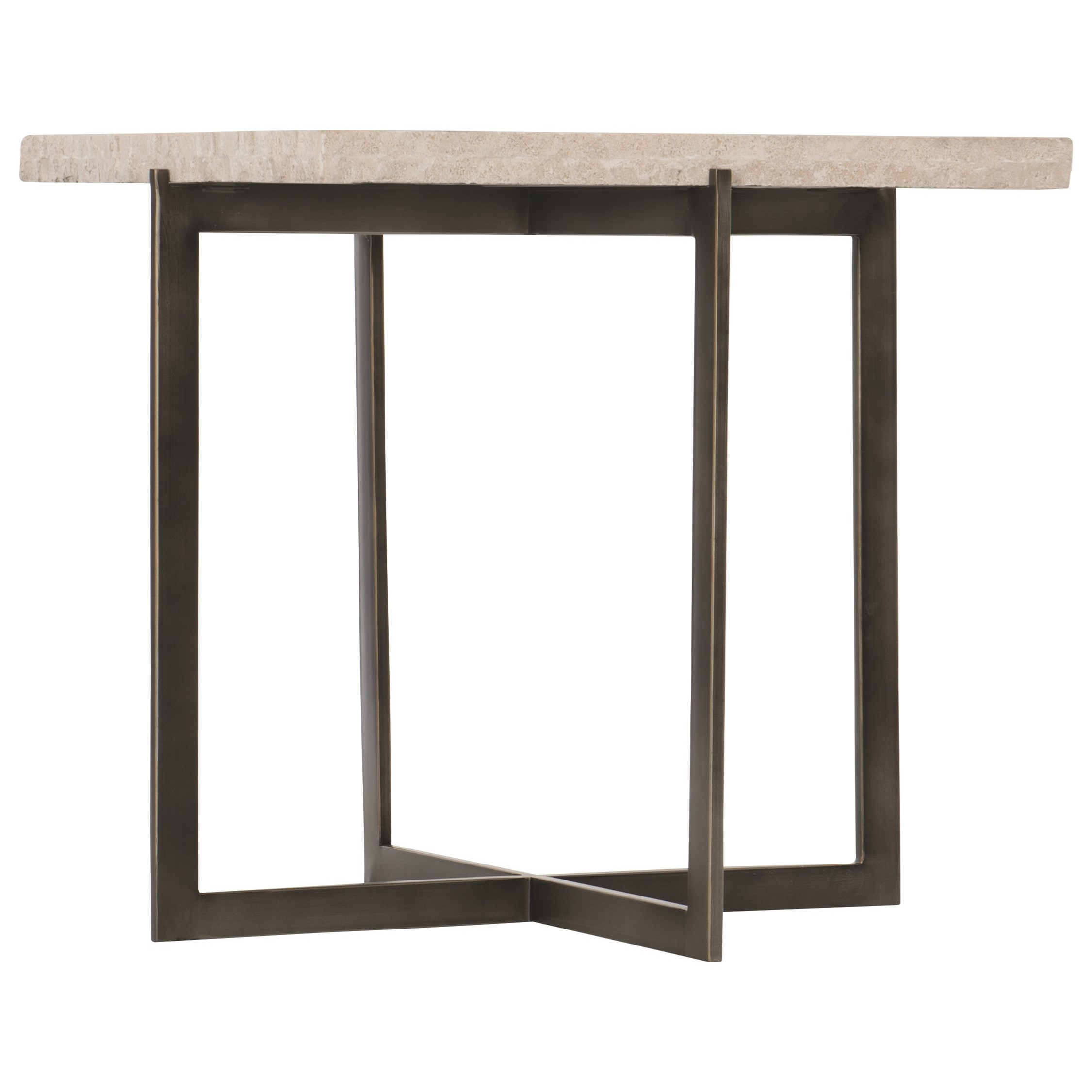 Bernhardt Hathaway Contemporary Metal End Table Darvin Furniture End Tables