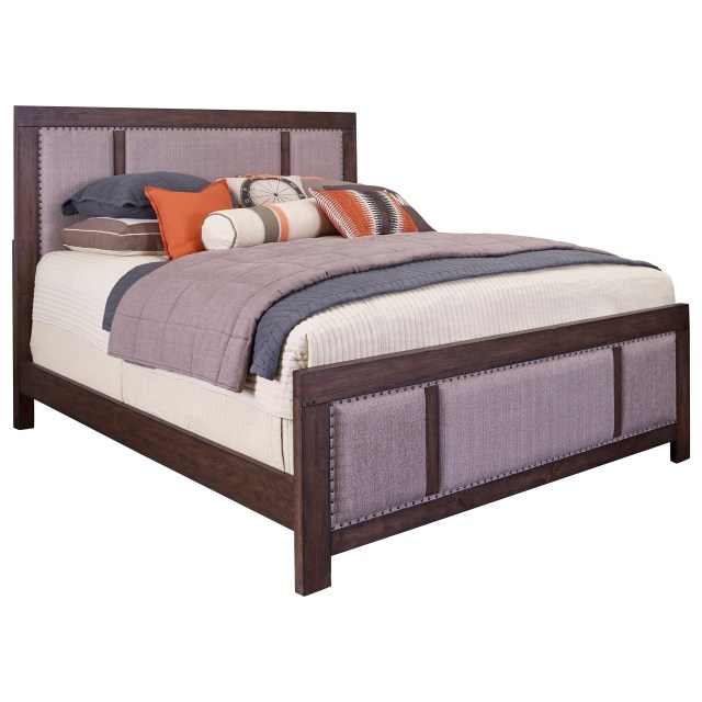 Broyhill Furniture Larimer Square King Upholstered Bed with Nail