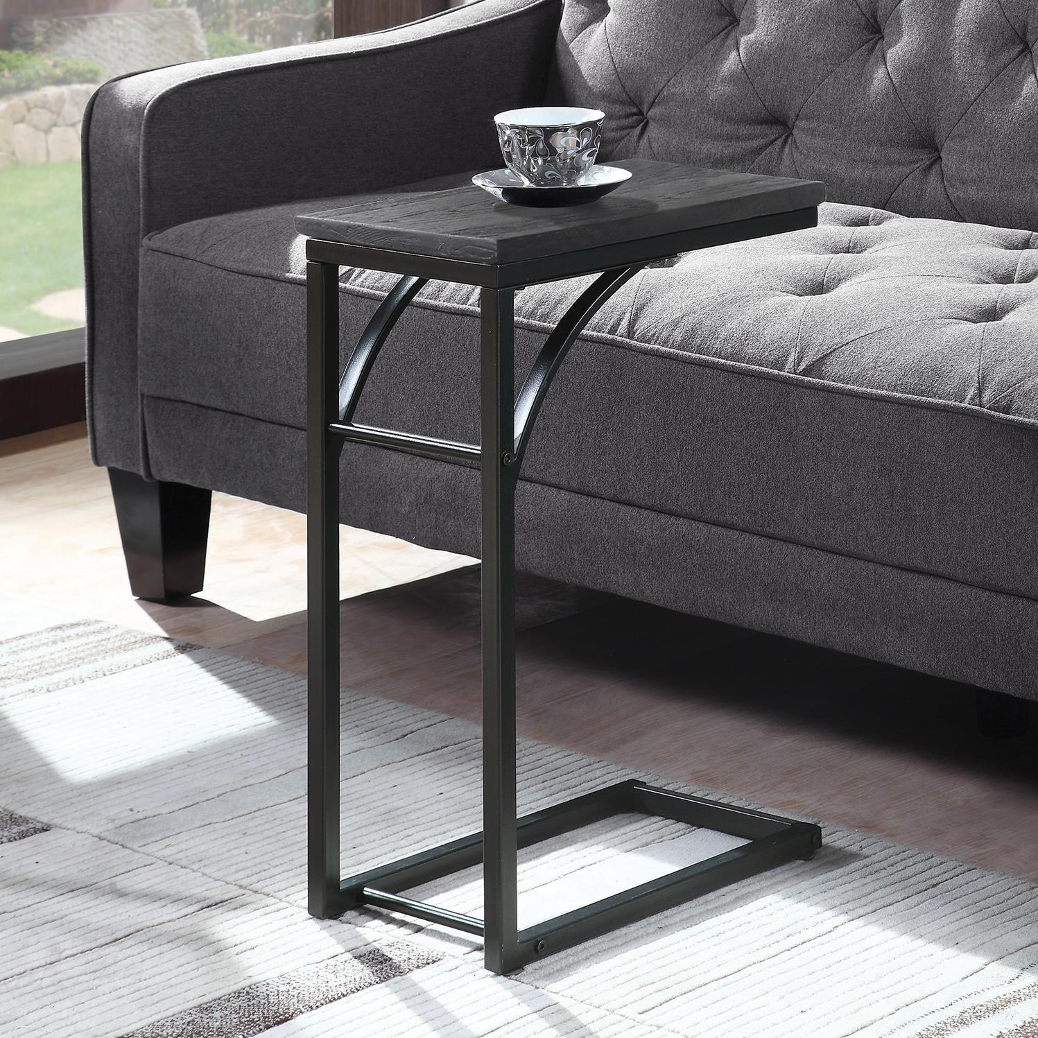Coaster Accent Tables 930005 Industrial Black Accent Table