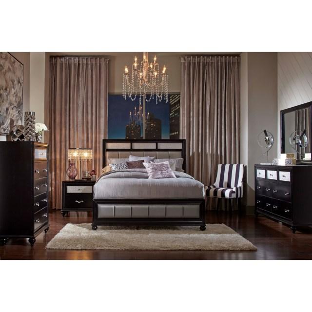 Coaster Barzini California King Bedroom Group Dunk & Bright