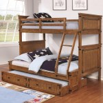 Coaster Coronado Bunk Bed Casual Wooden Twin Over Full Bunk Bed A1 Furniture Mattress Bunk Beds