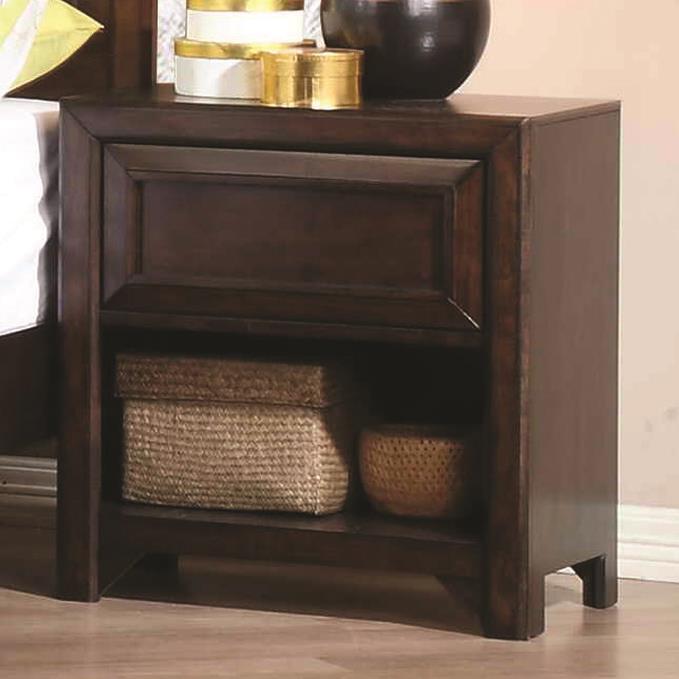 Coaster Greenough Nightstand Darvin Furniture Night Stands