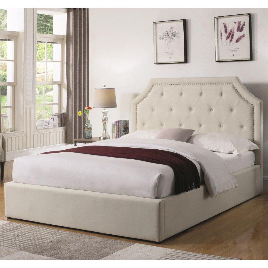 Coaster Hermosa 301469KE Easteren King Upholstered Bed ...
