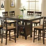 Coaster Mix Match 9 Piece Counter Height Dining Set A1 Furniture Mattress Pub Table And Stool Sets