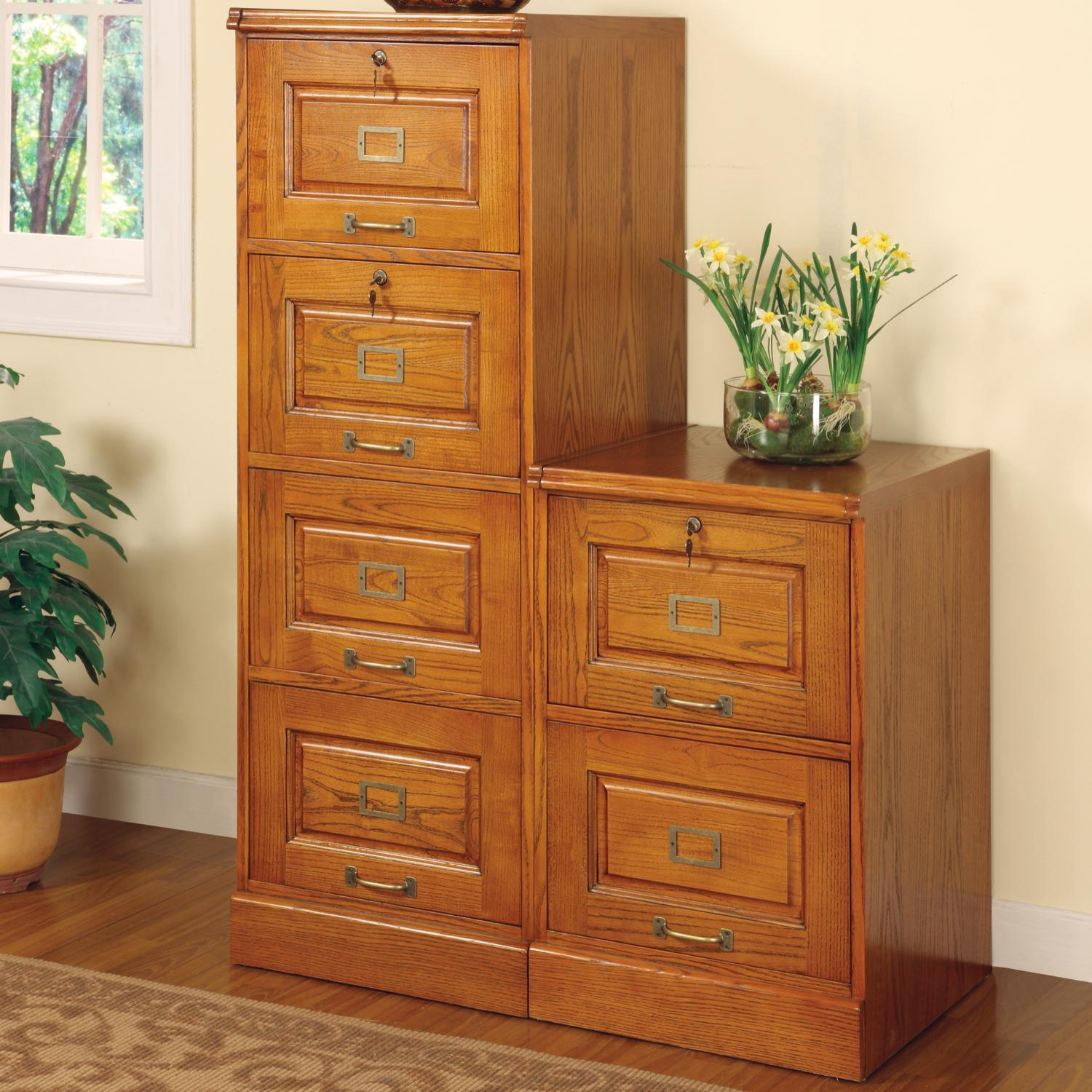 Coaster Palmetto Oak File Cabinet With 4 Drawers Rife S Home Furniture File Cabinets