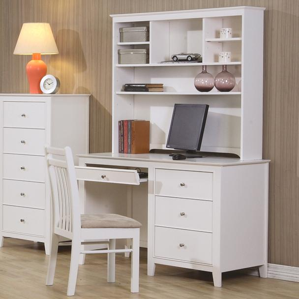 Coaster Selena Computer Desk And Hutch Value City
