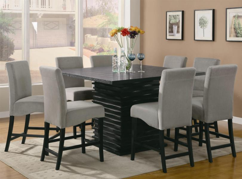 Coaster Stanton 9 Piece Table and Chair Set   Northeast Factory     Coaster Stanton 9 Piece Table and Chair Set   Item Number  102068 8x9GRY