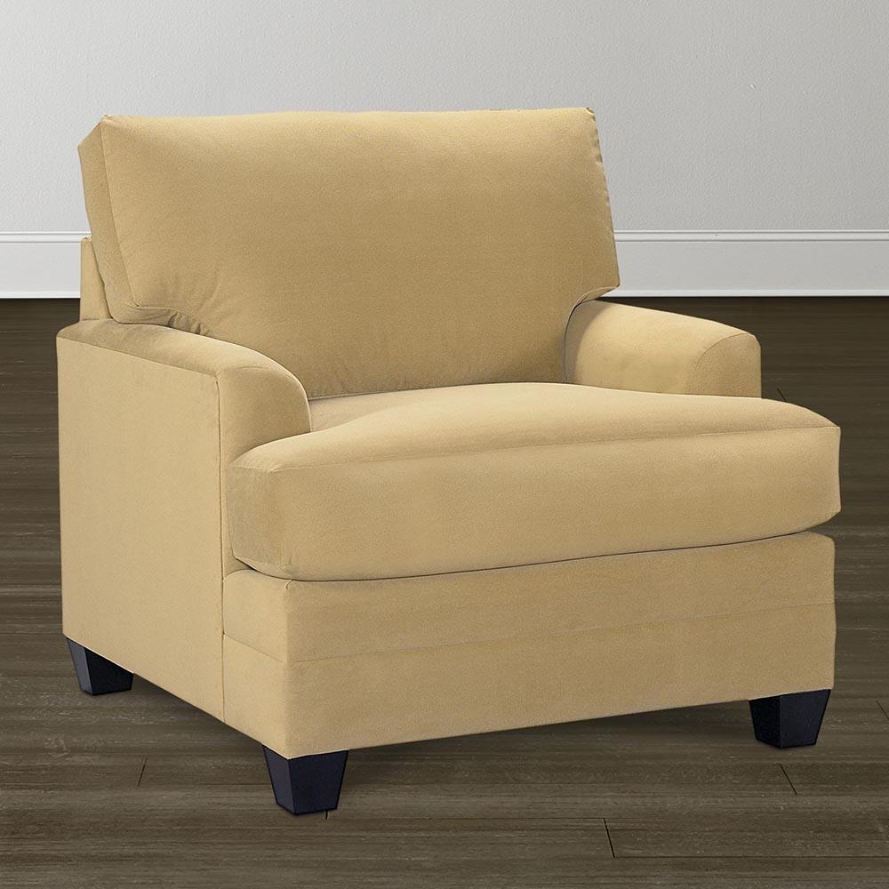 Bassett CU2 3847 12 Chair With Customizable Fabric