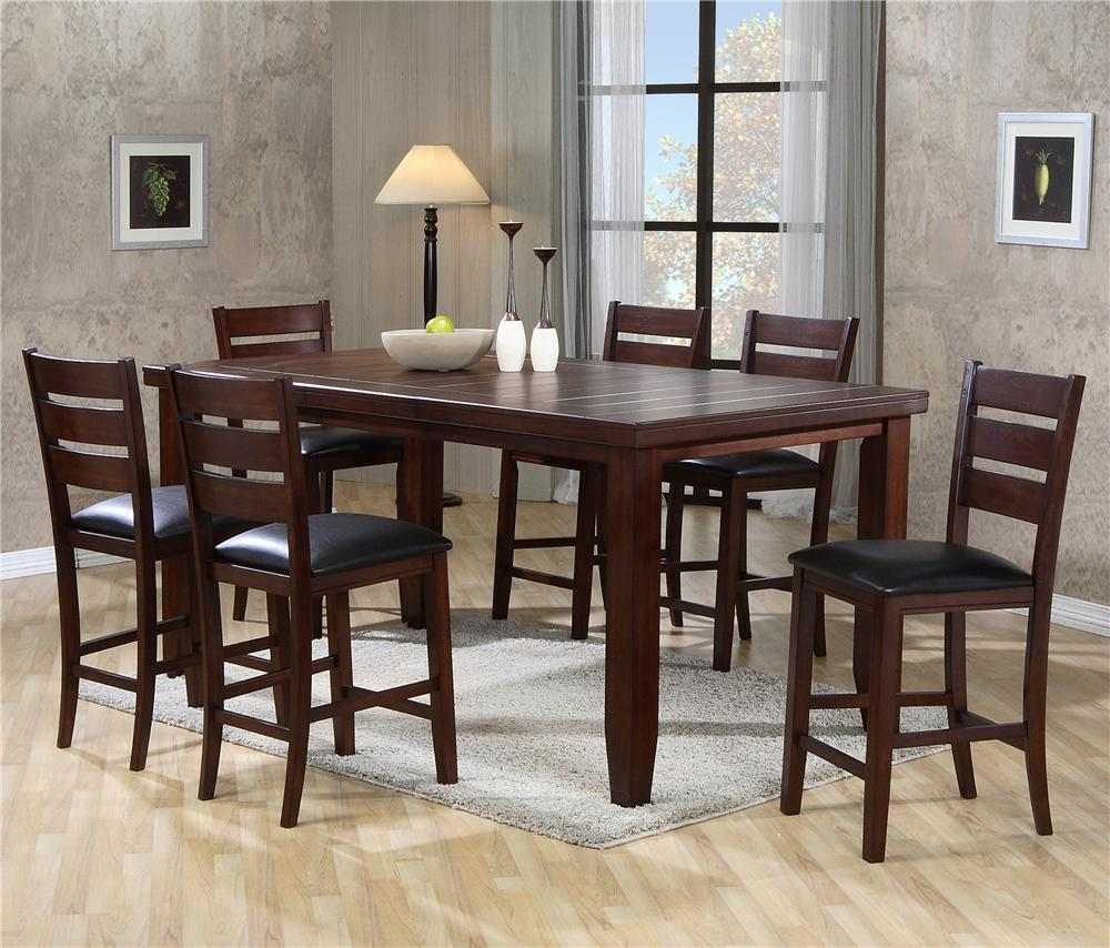 Amish Counter Height Table Set