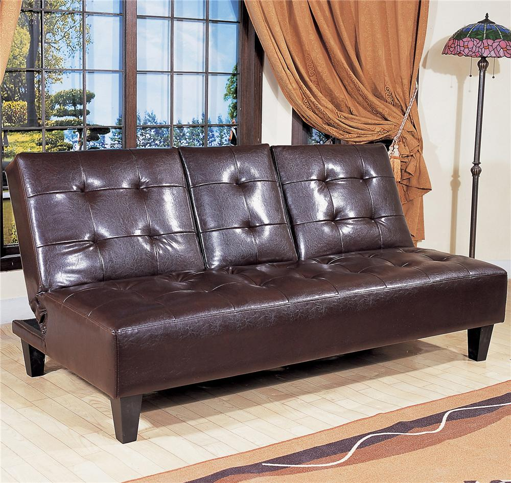Crown Mark Futons Amp Daybeds Adjustable Sofa With Snack