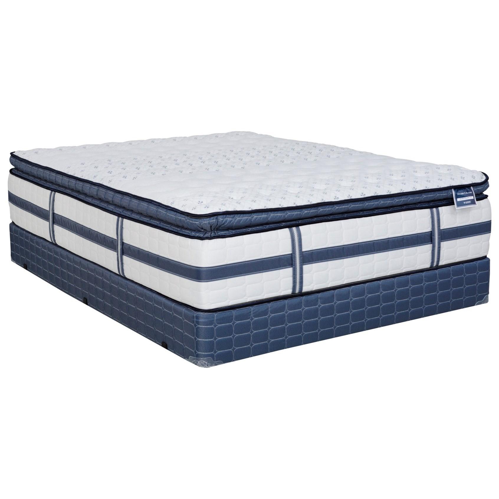 bliss plush pillow top queen plush pillow top mattress set