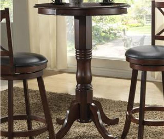 E C I Furniture Burnished Collection Bar Height Pub Table