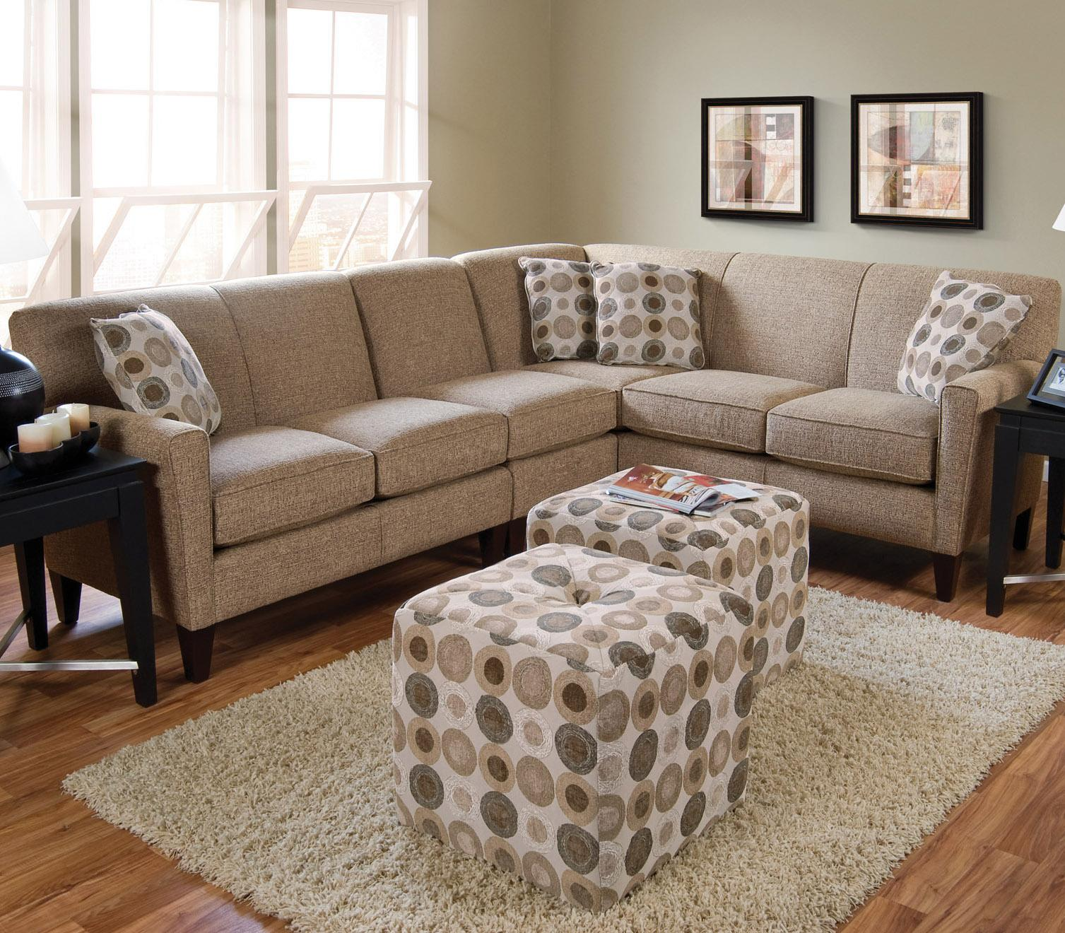 England Collegedale Contemporary 3 Piece Sectional