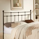 Fashion Bed Group Metal Beds Queen Dexter Headboard Turk