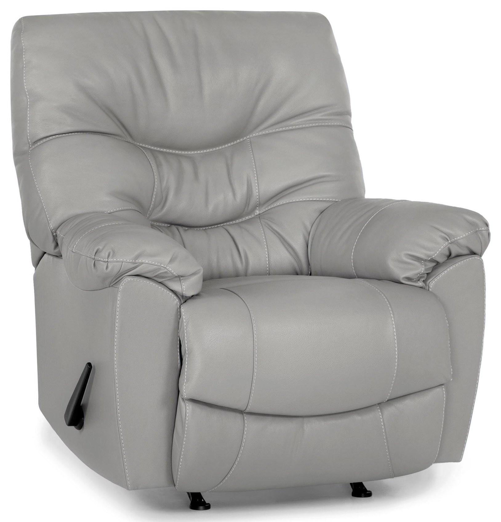 4595 recliner light grey