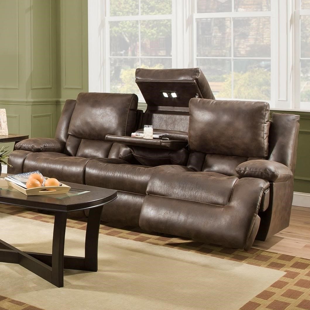 Franklin Excalibur 74344 Power Reclining Sofa With