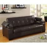 Furniture Of America Logan Leatherette Futon Sofa With Storage Dream Home Interiors Futons