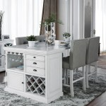 Furniture Of America Sutton Counter Height Table With Wine Storage Dream Home Interiors Pub Tables