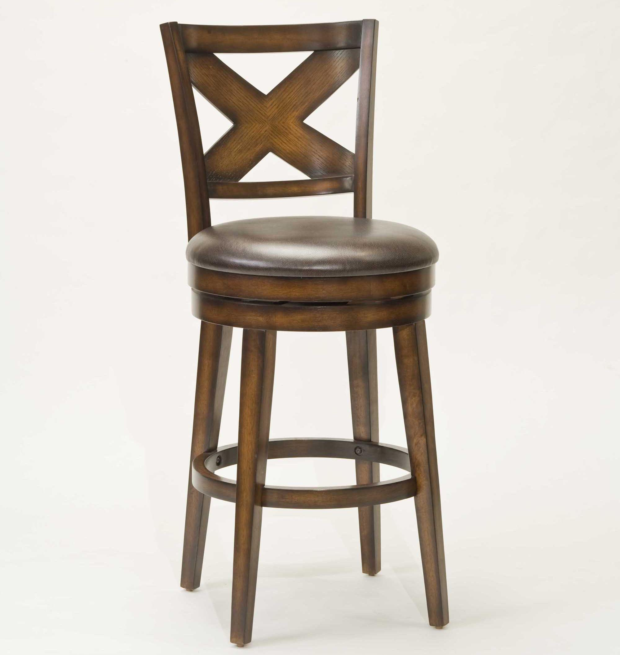 Hillsdale Wood Stools 30 Bar Height Sunhill Swivel Stool Wayside Furniture Bar Stools