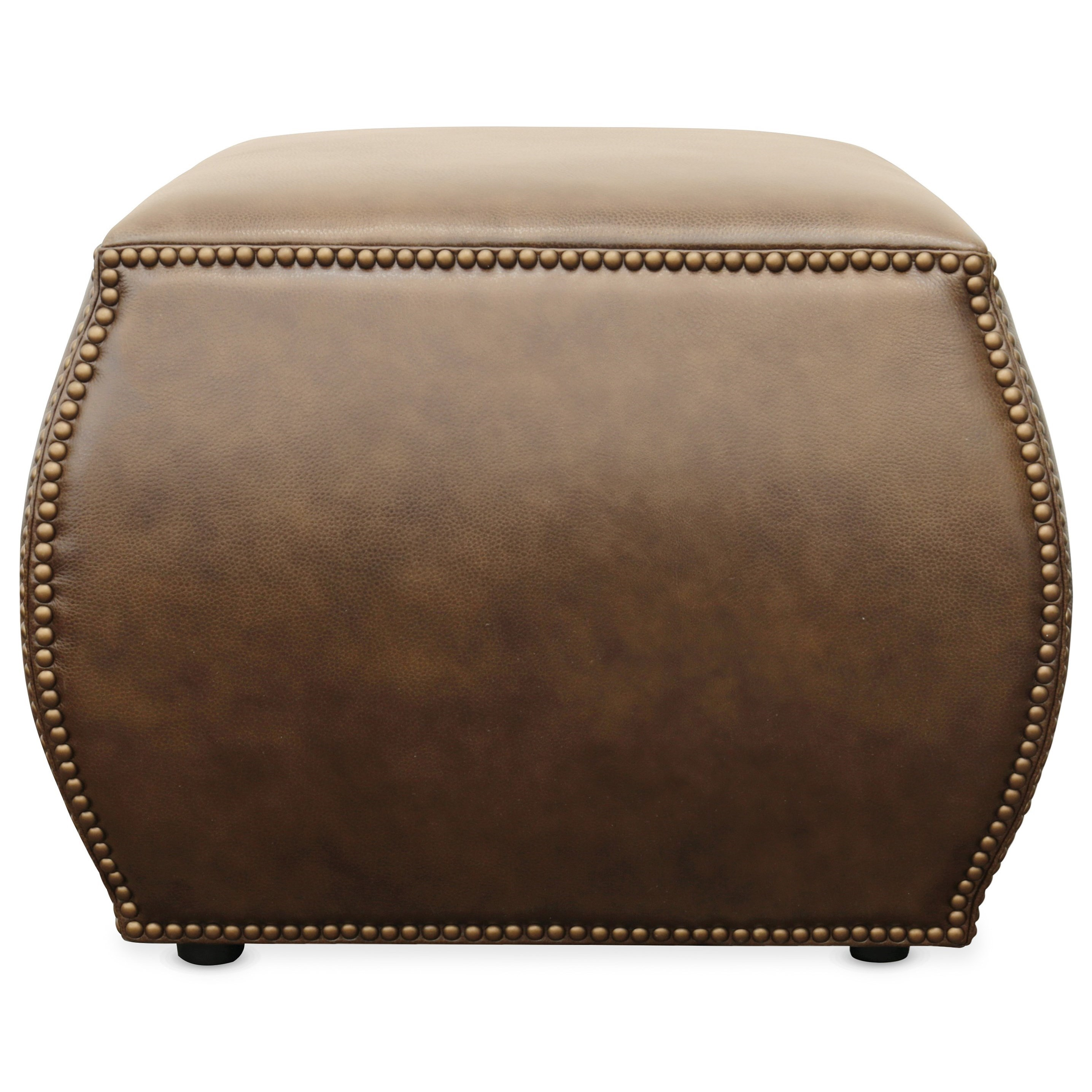 cocktail ottomans cordova leather ottoman