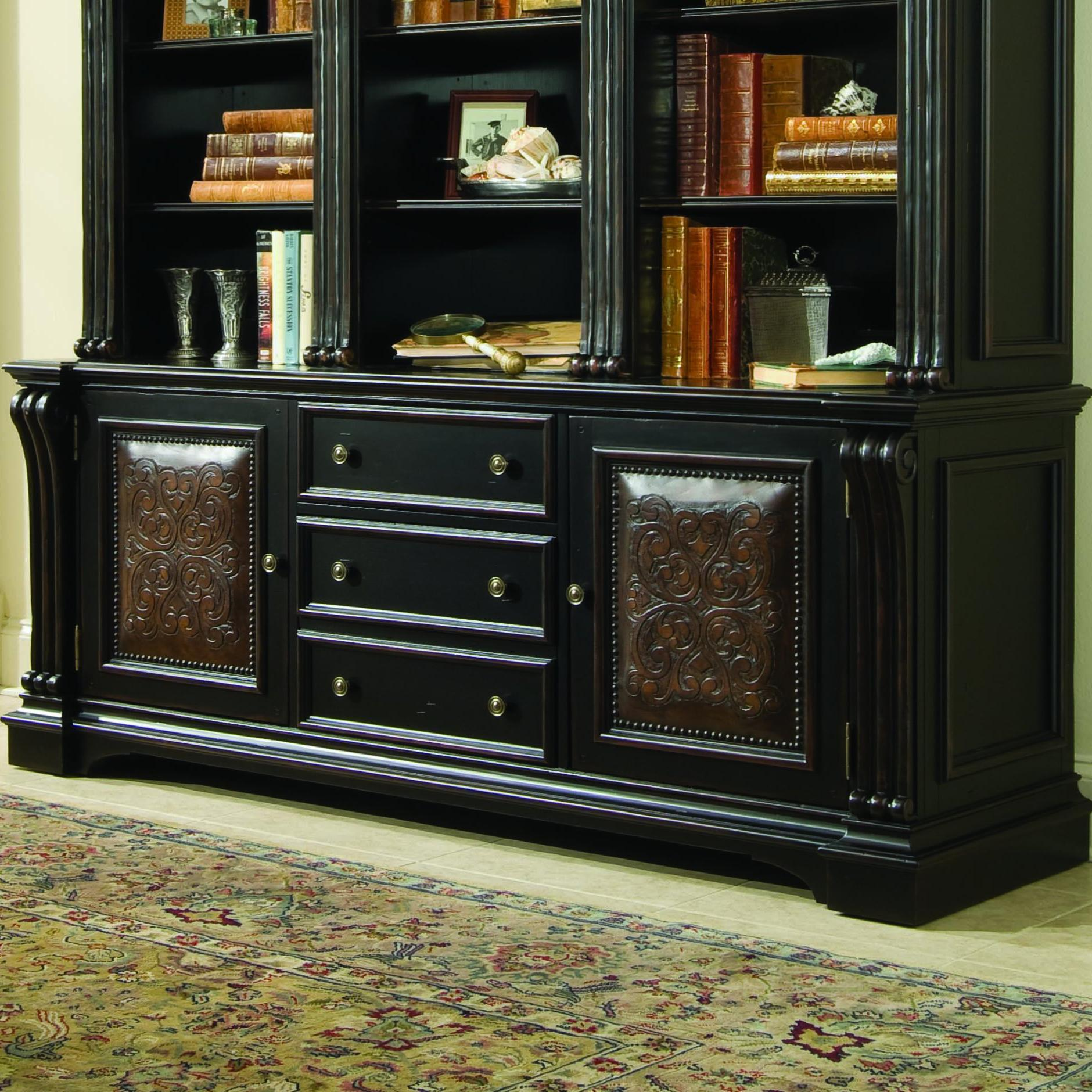 Hooker Furniture Telluride Bookcase Base Boulevard Home