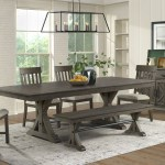 Intercon Sullivan Farmhouse Table And Chair Set With Bench Rife S Home Furniture Table Chair Set With Bench