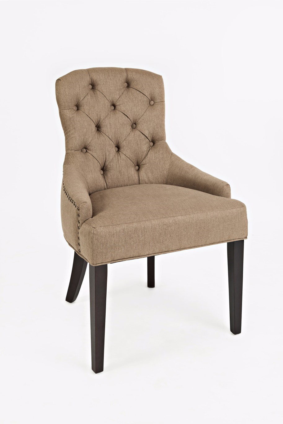 Geneva Hills Upholstered Side Chair With Tufted Back By Jofran At Dunk Bright Furniture
