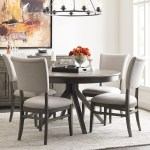 Kincaid Furniture Cascade Round Dining Table Set With 4 Chairs Godby Home Furnishings Dining 5 Piece Sets