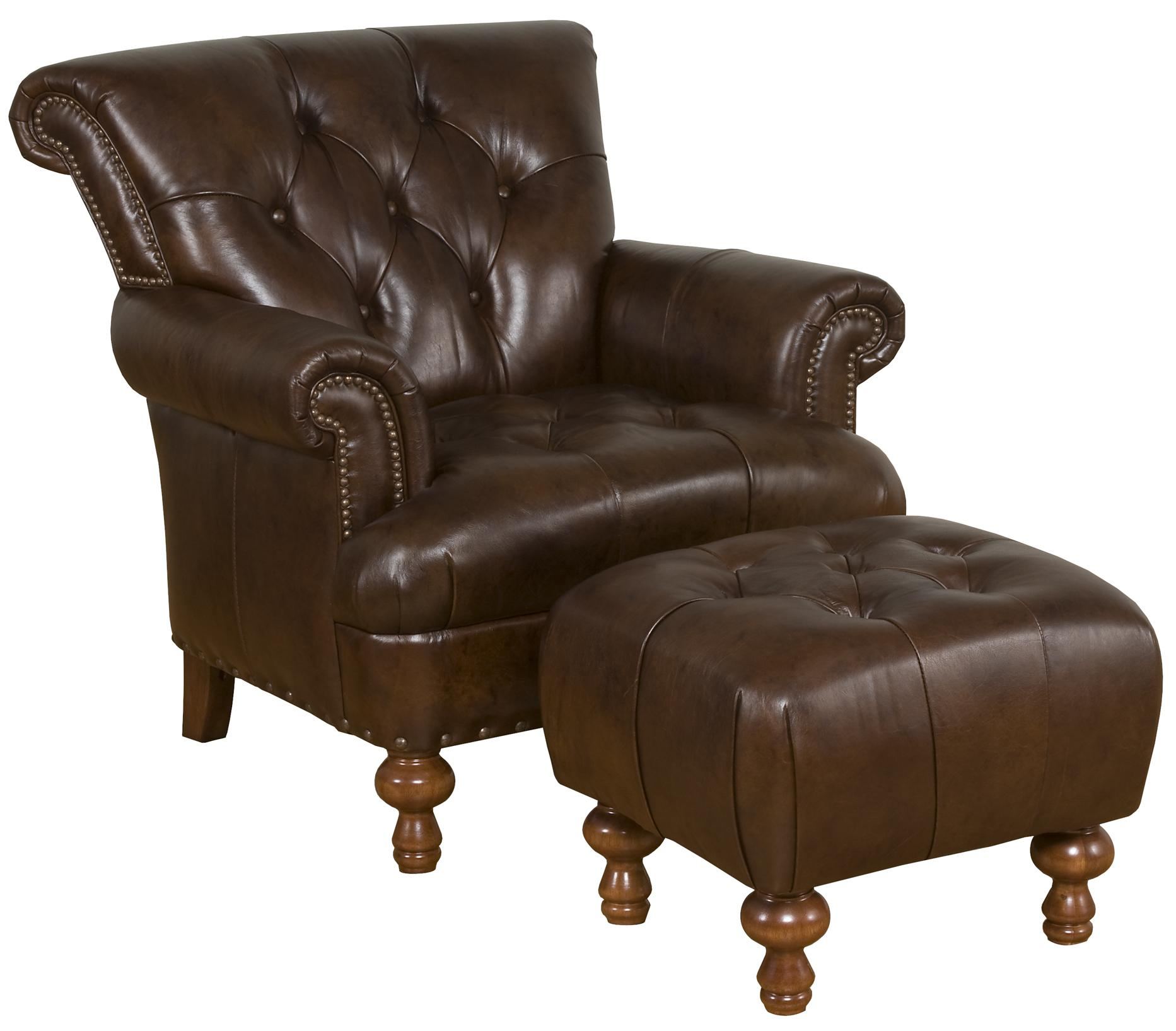 King Hickory Accent Chairs And Ottomans Mystic Tufted Accent