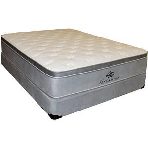 Kingsdown Anniversary Silver Queen Pillow Top Mattress Set