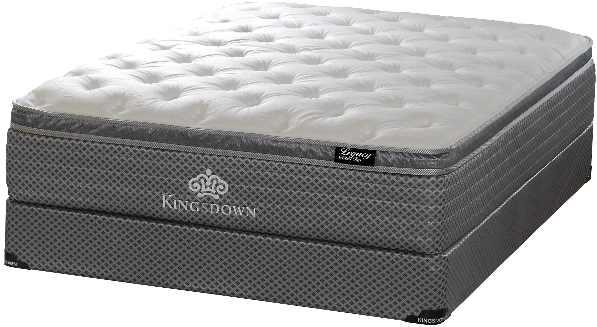 kingsdown legacy queen pillow top