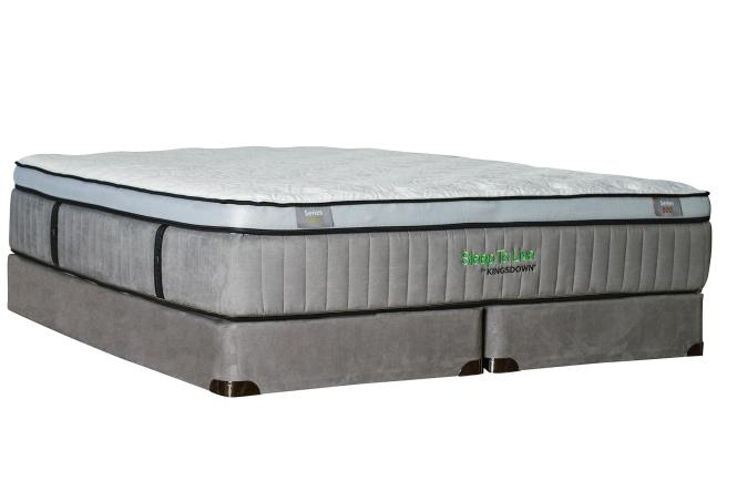 Kingsdown Sleep To Live 600 Queen Euro Top Mattress With Latex Item Number Series600