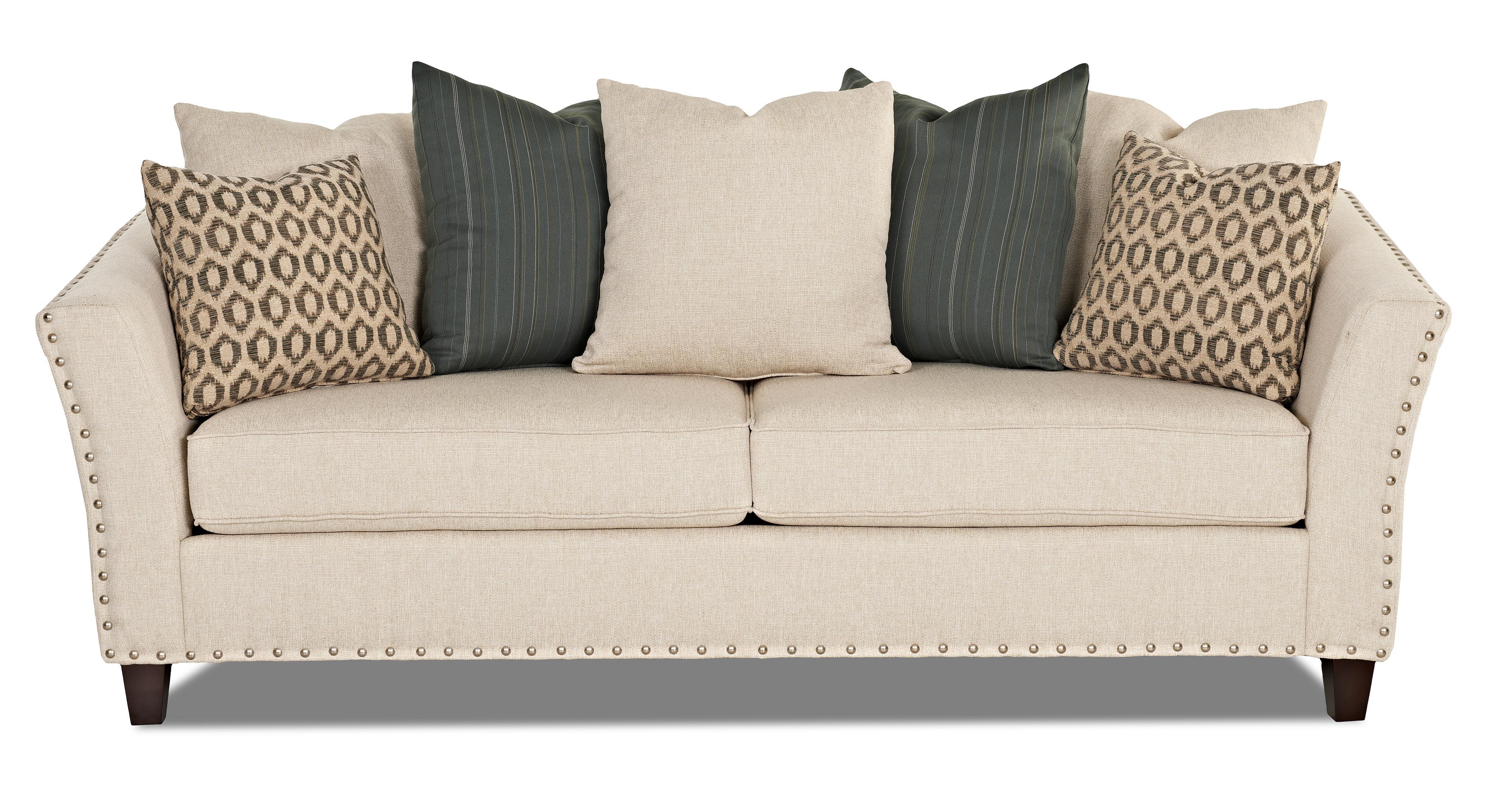 Nailhead Sofas Top Grain Leather Sofa With Nailhead TheSofa