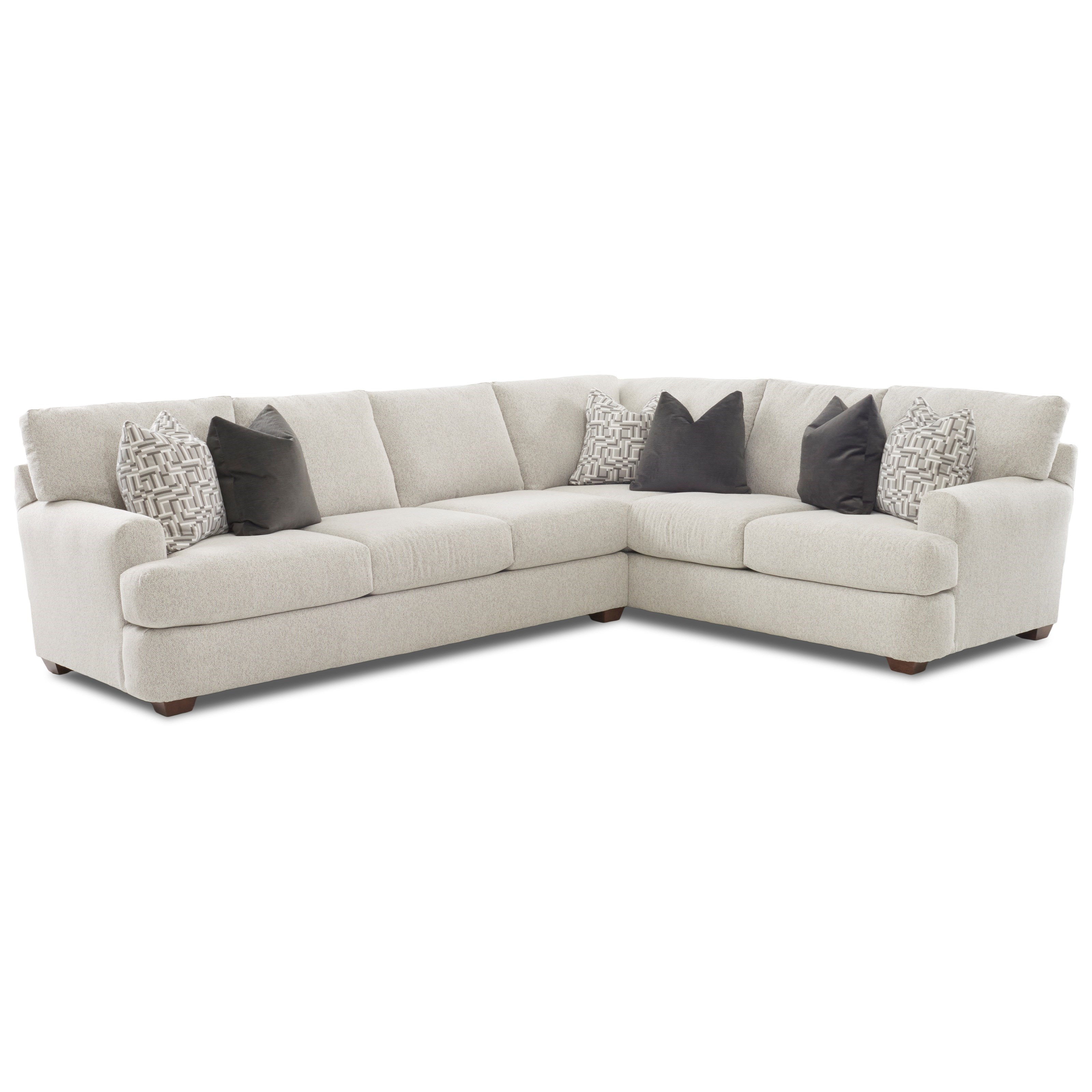 klaussner haynes two piece sectional