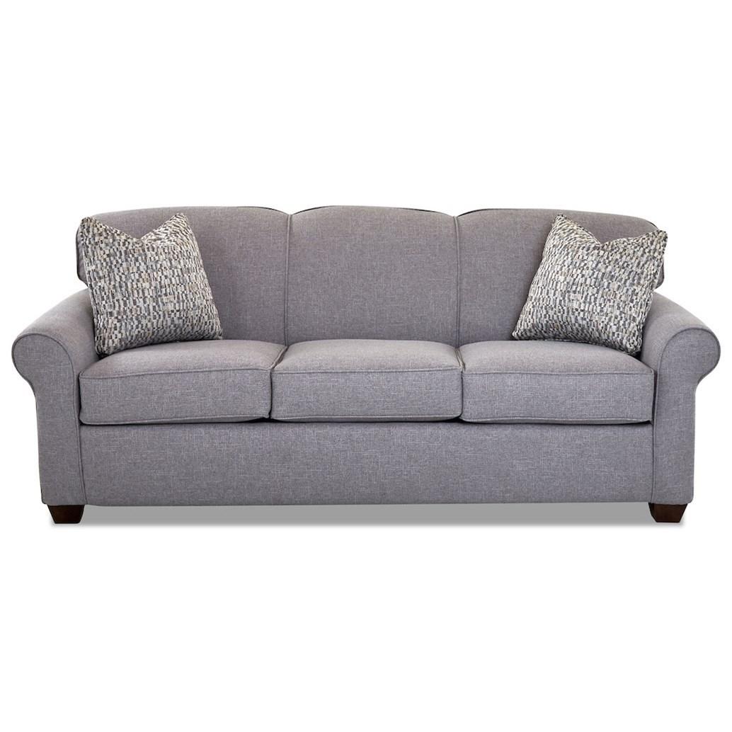Klaussner Mayhew 97900 Eqsl Enso Memory Foam Queen Sleeper Sofa Pilgrim Furniture City Sleeper Sofas