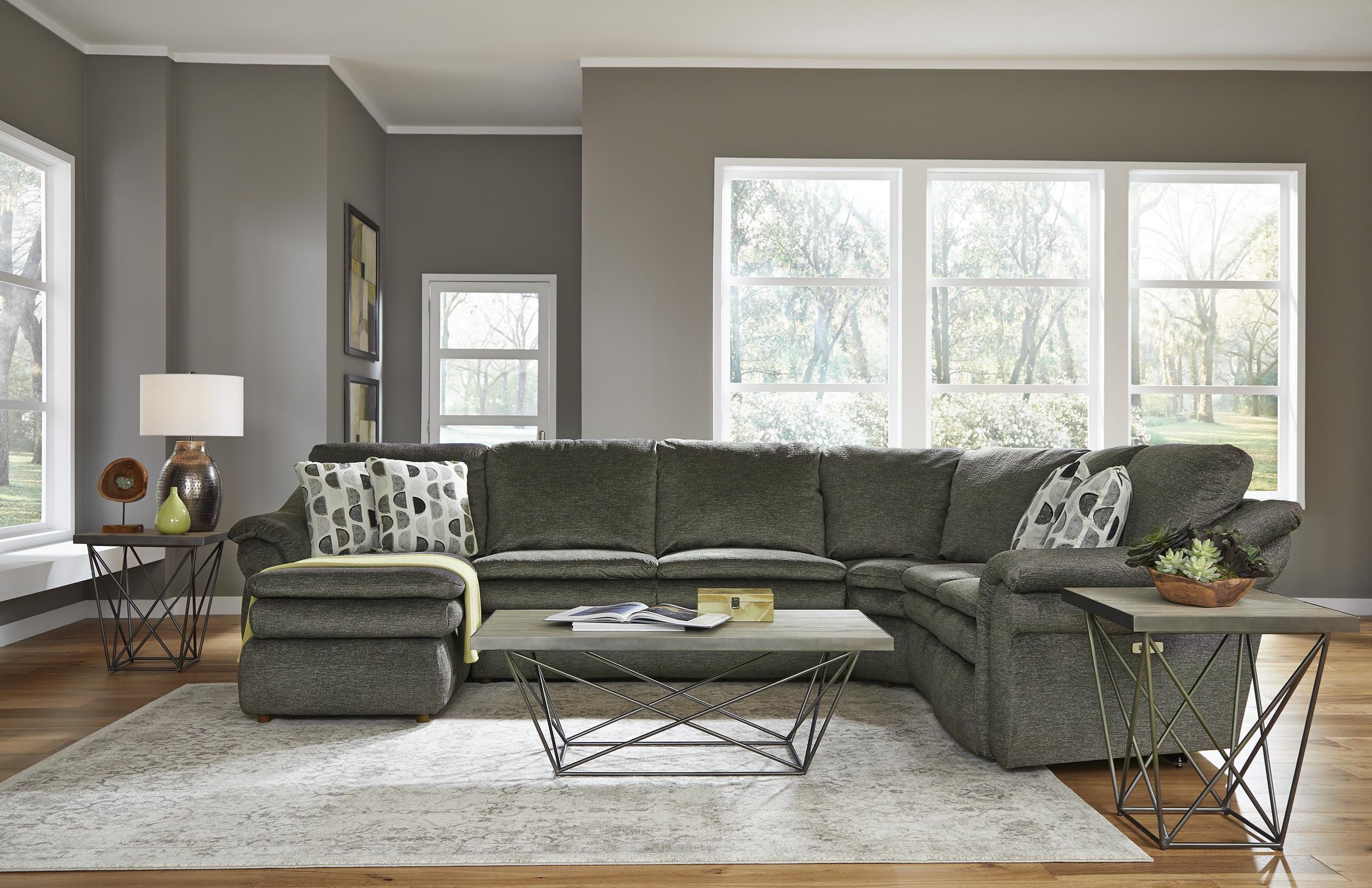 devon 4 piece power reclining sectional sofa w sl