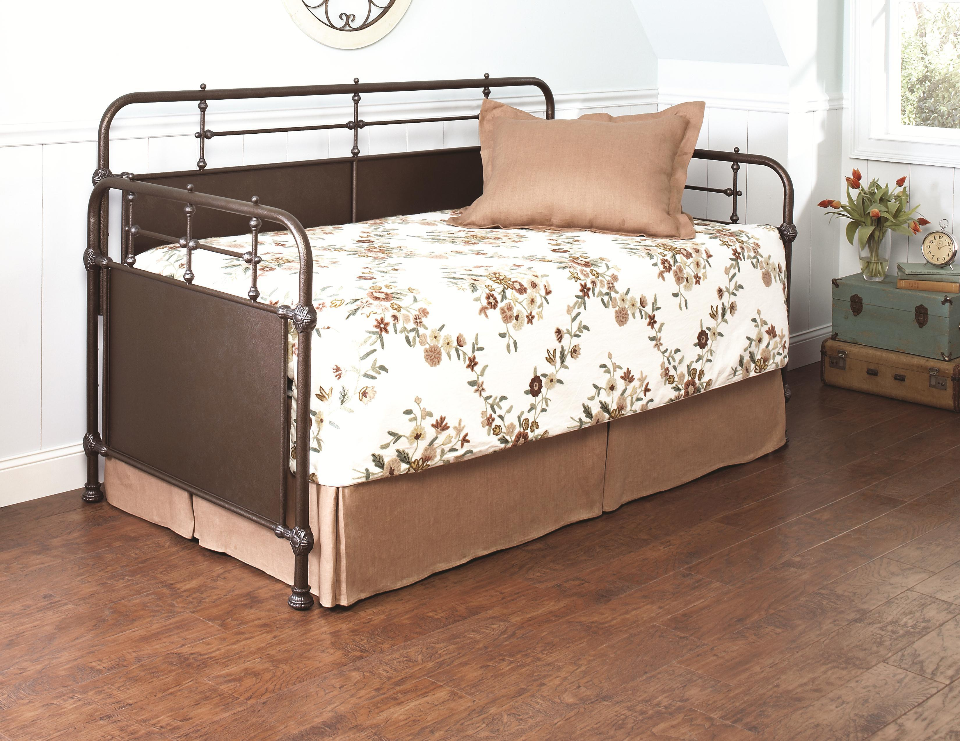 Largo Elements Dillon Metal Daybed With Pop Up Trundle