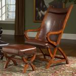 Largo Hunter L731a Hunter Leather Chair And Ottoman Miller Home Chair Ottoman Sets