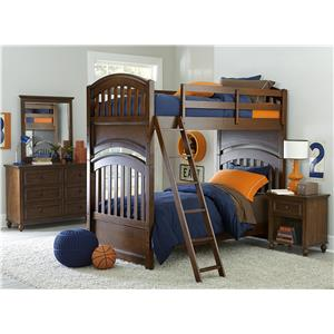 Legacy Clic Kids Academy Full Bedroom Group