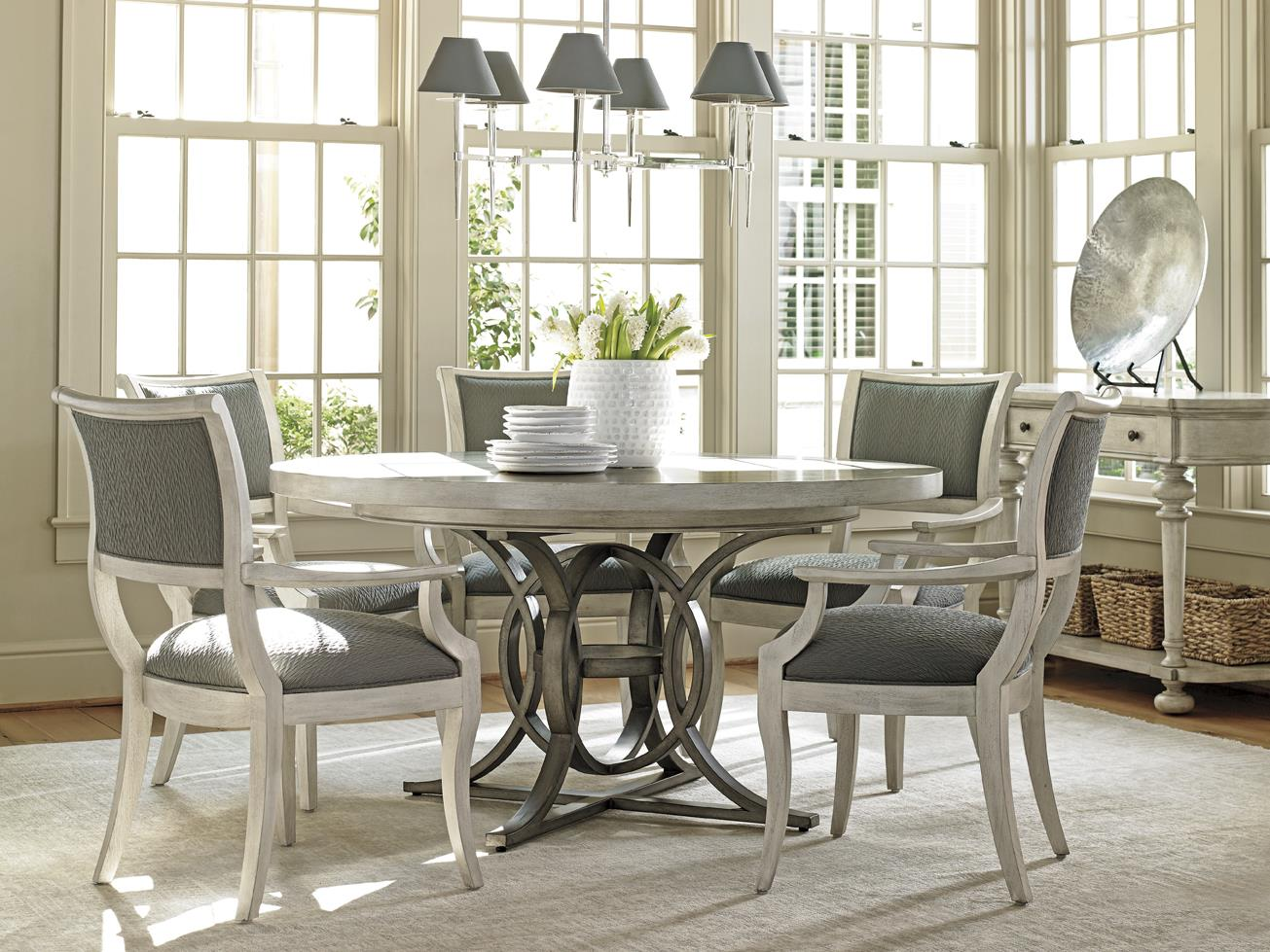 Lexington Oyster Bay 714 875C Calerton Round Dining Table