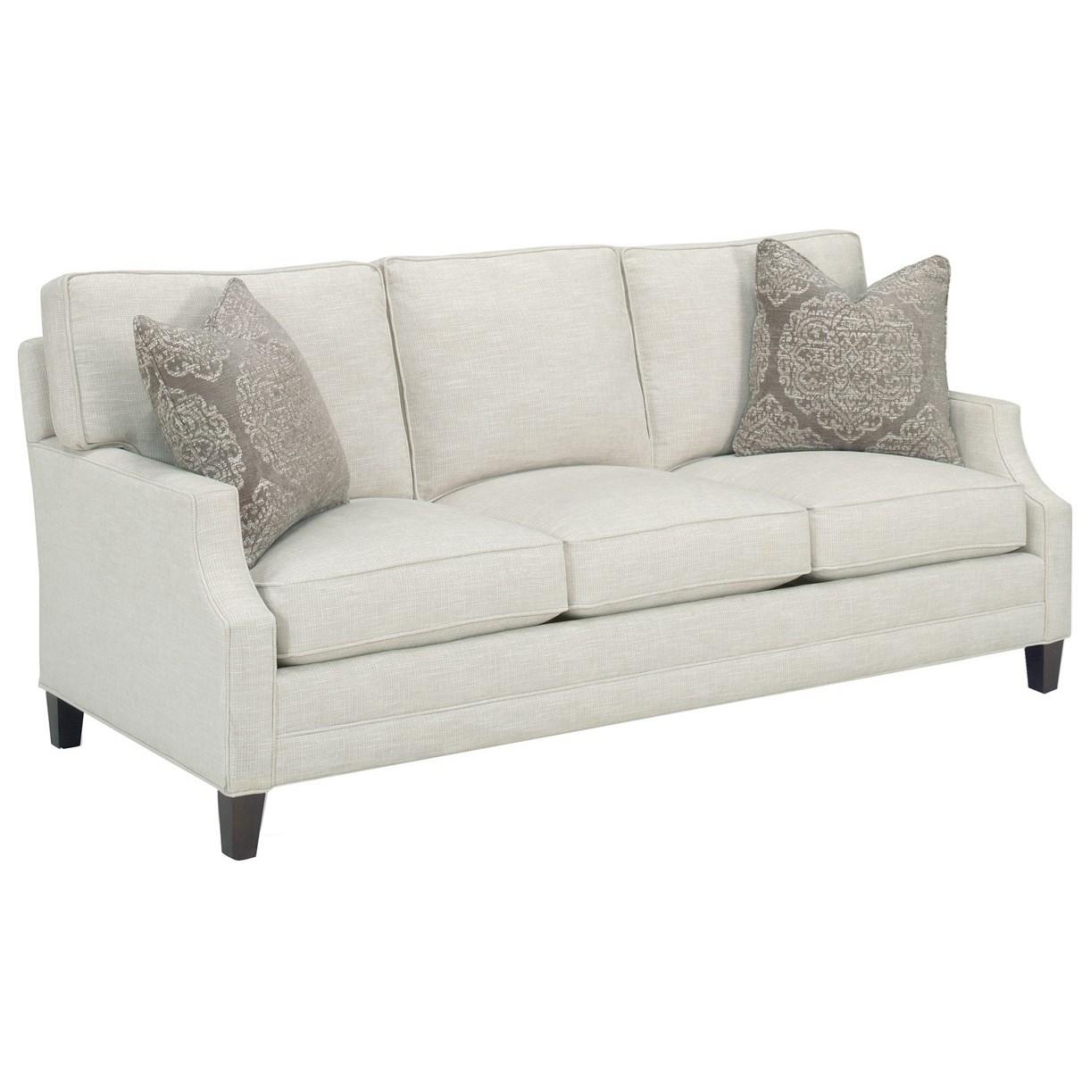 Lexington Personal Design Series 6300 33 Bristol Customizable Sofa Scoop Arm Boxed Edge Back