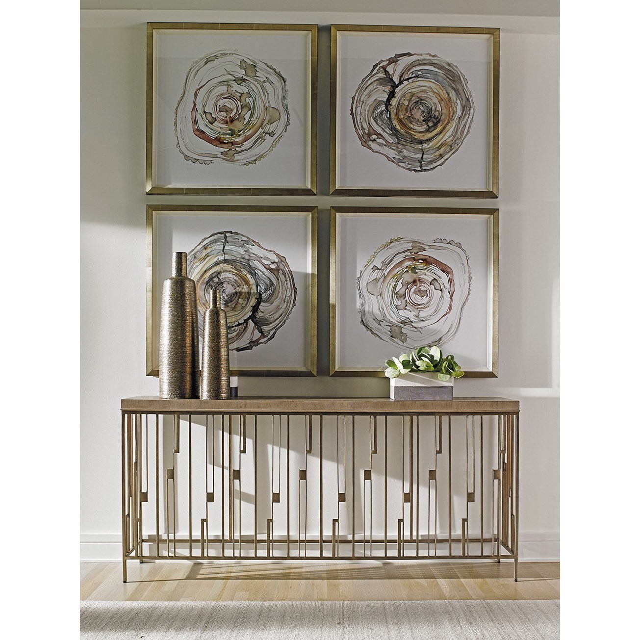 Lexington Shadow Play 725 967 Studio Console Table With
