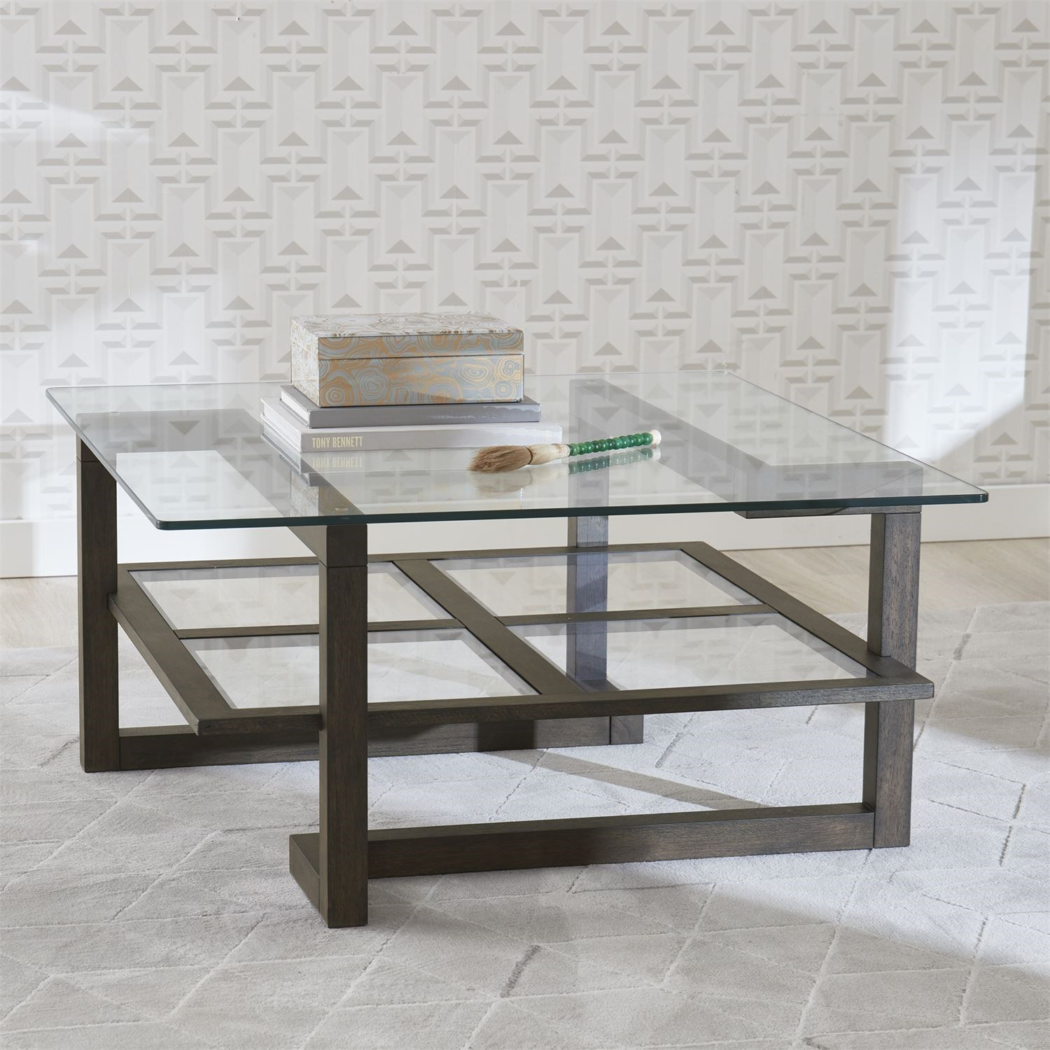 contemporary square cocktail table