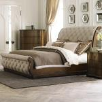 Liberty Furniture Cotswold Transitional Upholstered King Sleigh Bed Royal Furniture Sleigh Beds